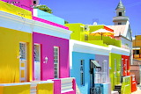 Colorful Homes Bo-Kaap Cape Town Africa