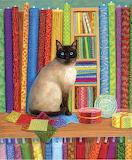 Linda Elliott 'Quilt Shop Cat'