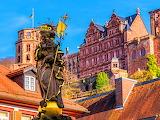 Statue, Heidelberg