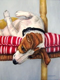 Russell Terrier By D. Sisson