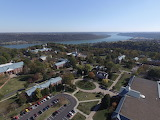 Hanover College from Above (Easy)