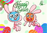#Gumball and Darwin Happy Easter by RadiumIven on DeviantArt