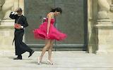 girl, priest, windy