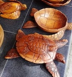 Wooden Turtles- Bali