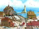 Lighthouse village~ MAVessey