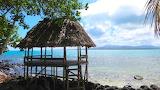 Traditional Fale on Manono, Samoa