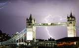 Places - London thunder and lightening