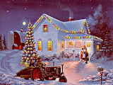 Christmas Country House