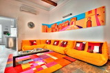 Bright Colors in the Home