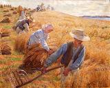 Høstbillede, Peter Hansen 1910