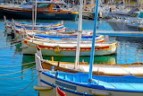boats in harbour, Cassis