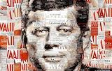 mosaic of John Kennedy