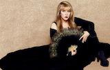 Stevie Nicks peacock feather fan
