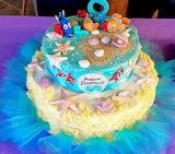 Sea lover's cake