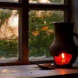 Lamp in the window