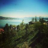 Beautiful view of Lake Zürich