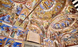 Monastery of Saint Ivan of Rila Fresco W portico