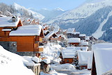 Wonderful village in the French Alps