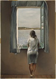 Girl at the Window by Salvador Dali 1925