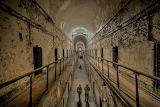 Eastern State Penitentiary 2 story cell block