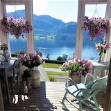 Holiday Porch with Lake View