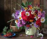 Splendido mazzo di fiori