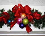 ^ Christmas - Mantle decoration