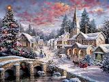 #Small Village in Winter