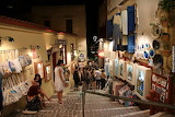 Night shopping in Chania old town