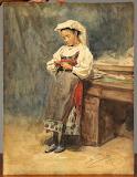 Vladimir Makovsky, Portrait of Young Italian Peasant, 1897