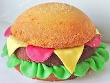 Burger cake @ Joyce Bakt