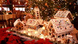Gingerbread Santa's Village
