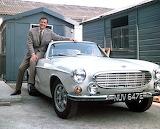 Roger Moore & Volvo P1800