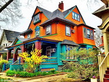 Very Colorful House