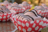 ^ Orange and Passionfruit Fondant Fancies