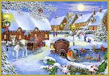Festive winter