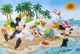 Mickey and Friends Beach Fun