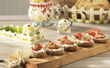 ^ Ricotta Toasts with Honey, Strawberries & Basil
