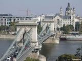 Kettinbrug Boedapest Hongarije