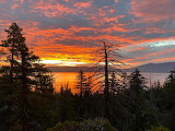Breathtaking Tahoe Sunrise