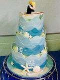 Wedding cake @ Donna Nanopress