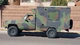1985 M1010 chevrolet military ambulance