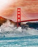 Golden Gate Bridge - San-francisco - Californie