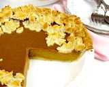 ^ Pumpkin Pie with leaf crust decoration