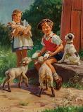 Feeding the Lambs ~ Henry Hintermeister