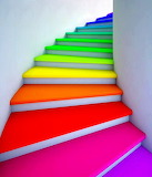 Up the Rainbow Stairs