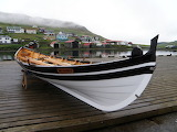 Wooden Rowboat. Faroe Islands