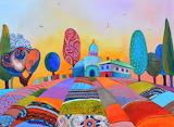 fields of Provence, Silvia Pavlova