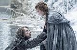 Sansa Stark y Theon Greyjoy