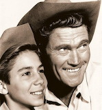 The Rifleman and son - Chuck Connors - Johnny Crawford